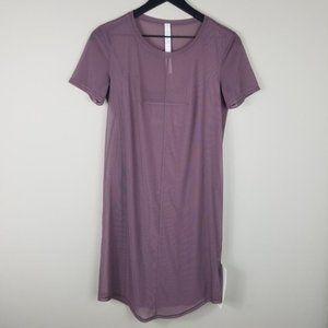 LULULEMON Ready To Reach Mesh Dress   Size 4   NWT